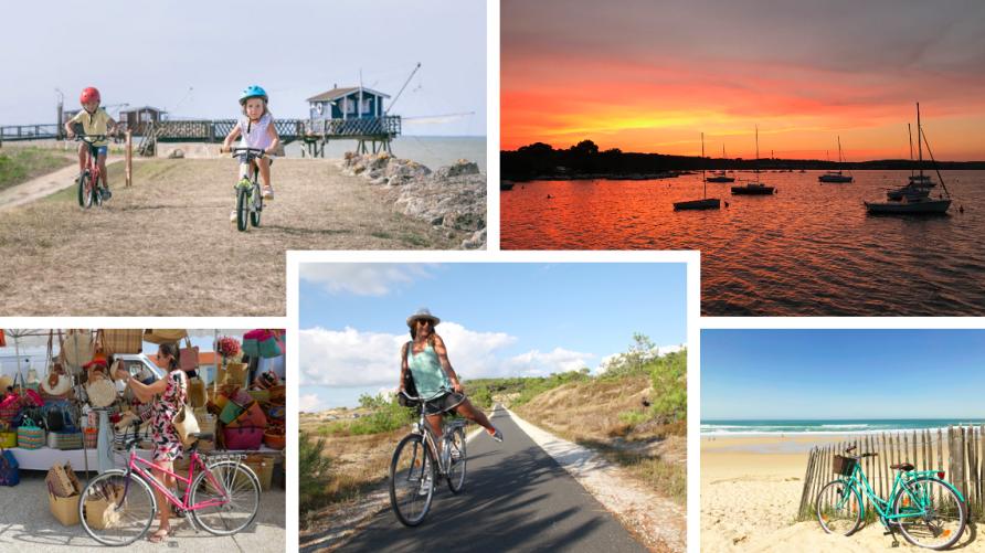 Destination vélo, cap sur le Médoc Atlantique